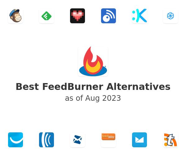 Best FeedBurner Alternatives