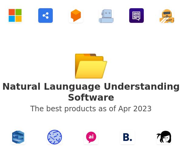 Natural Launguage Understanding Software