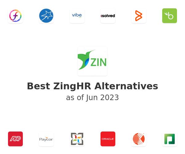 Best ZingHR Alternatives