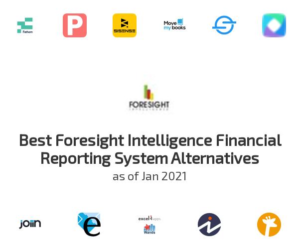 Best Foresight Intelligence Financial Reporting System Alternatives