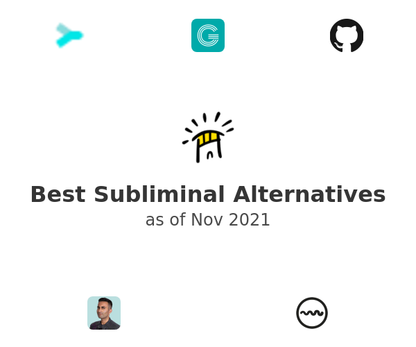 Best Subliminal Alternatives