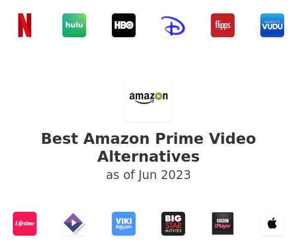 Best Amazon Prime Video Alternatives