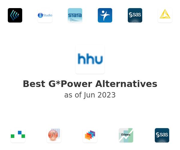 Best G*Power Alternatives