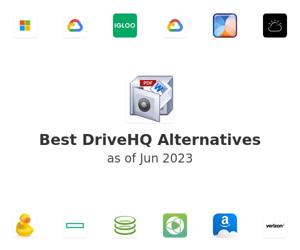Best DriveHQ Alternatives