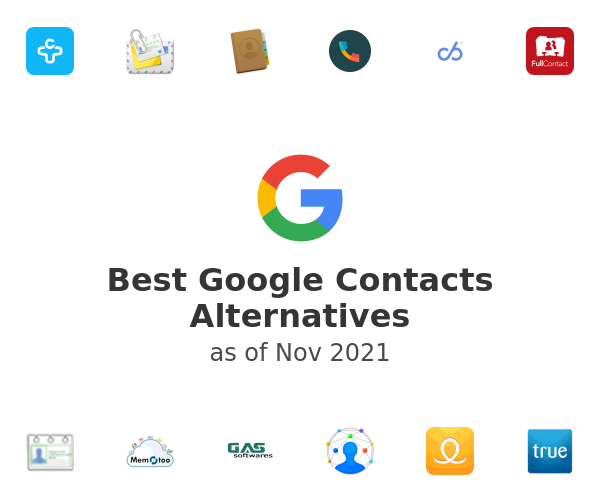 Best Google Contacts Alternatives