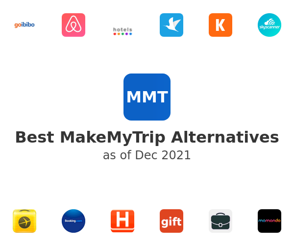 Best MakeMyTrip Alternatives