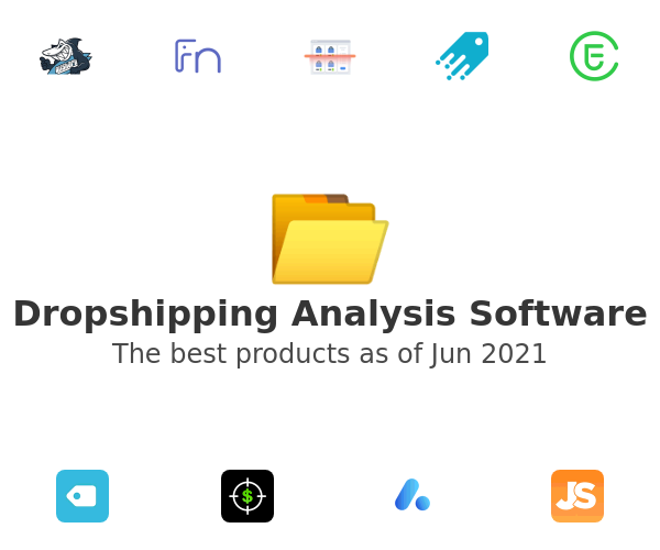 Dropshipping Analysis Software