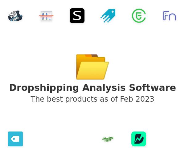 Dropshipping Analysis Software