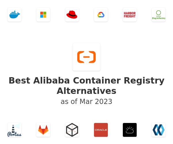 Best Alibaba Container Registry Alternatives