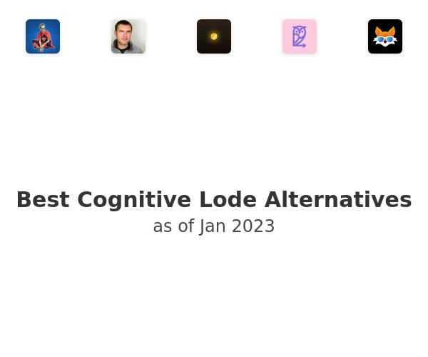 Best Cognitive Lode Alternatives