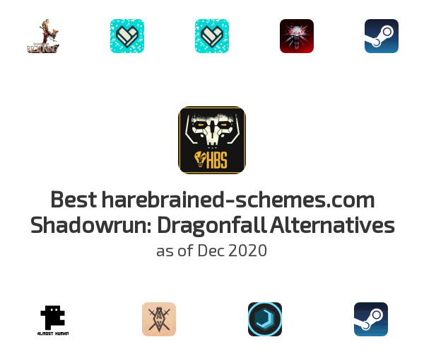Best harebrained-schemes.com Shadowrun: Dragonfall Alternatives