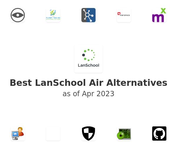 Best LanSchool Air Alternatives