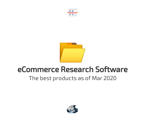 eCommerce Research Software