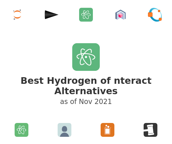 Best Hydrogen of nteract Alternatives