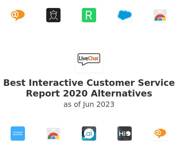 Best Interactive Customer Service Report 2020 Alternatives