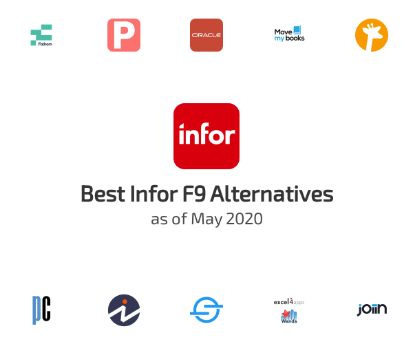 Best Infor F9 Alternatives