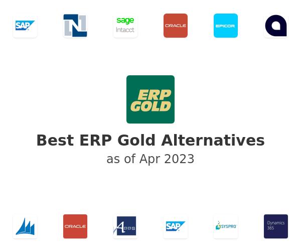 Best ERP Gold Alternatives