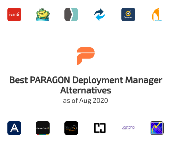 Best PARAGON Deployment Manager Alternatives