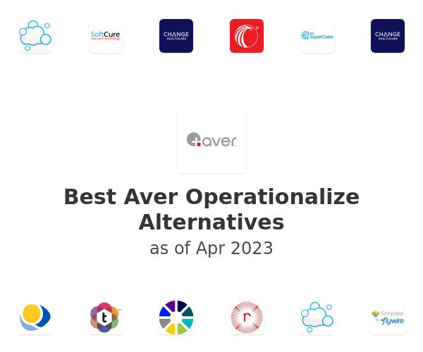 Best Aver Operationalize Alternatives