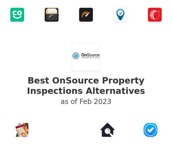 Best OnSource Property Inspections Alternatives