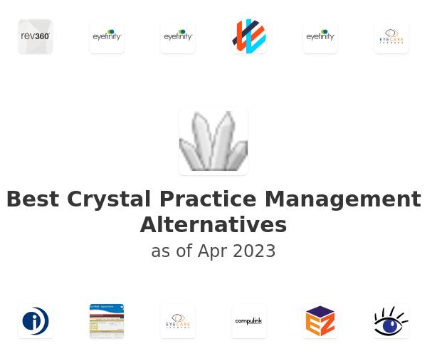 Best Crystal Practice Management Alternatives