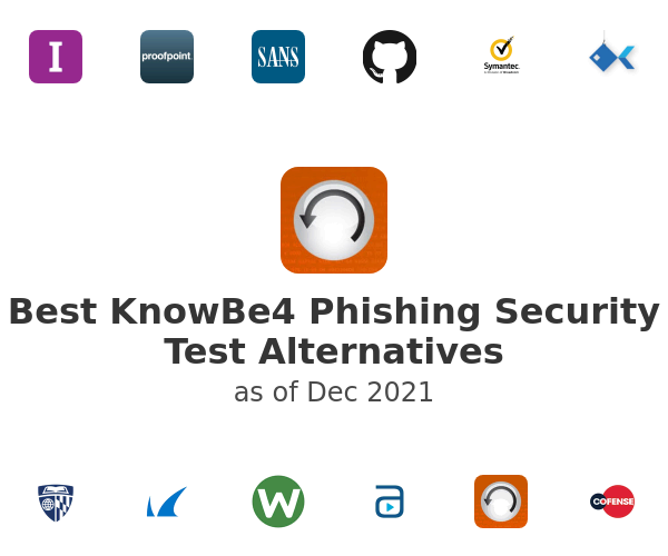 Best KnowBe4 Phishing Security Test Alternatives