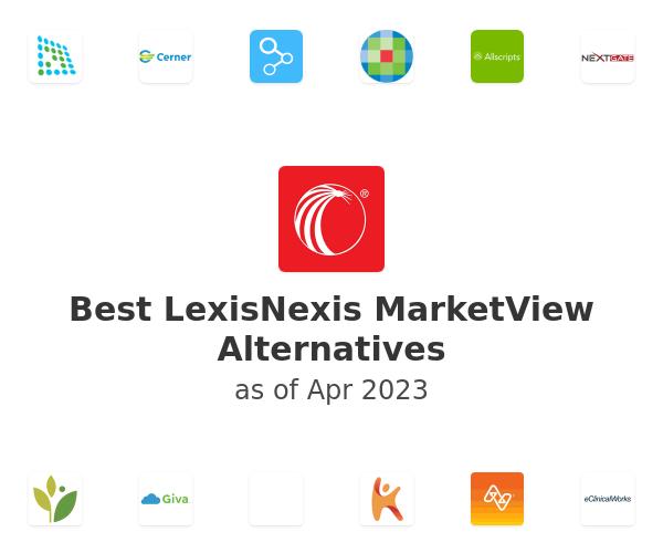 Best LexisNexis MarketView Alternatives