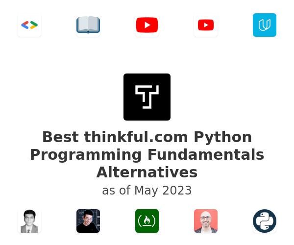 Best Python Programming Fundamentals Alternatives