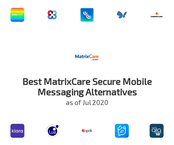 Best MatrixCare Secure Mobile Messaging Alternatives
