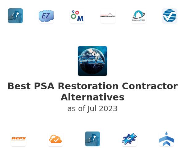 Best PSA Restoration Contractor Alternatives