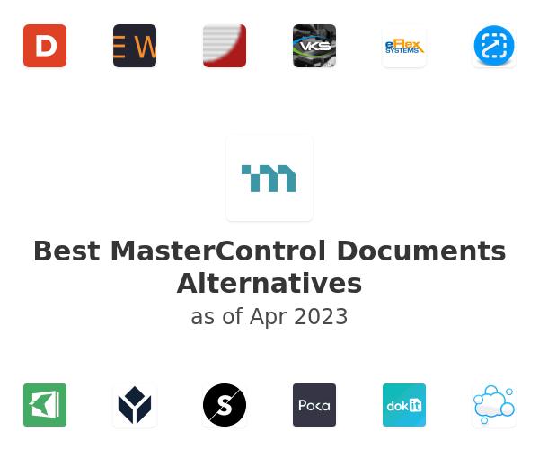 Best MasterControl Documents Alternatives