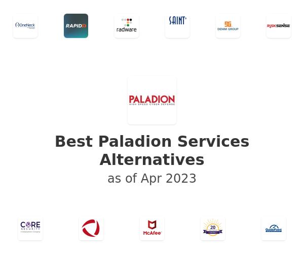 Best Paladion Services Alternatives