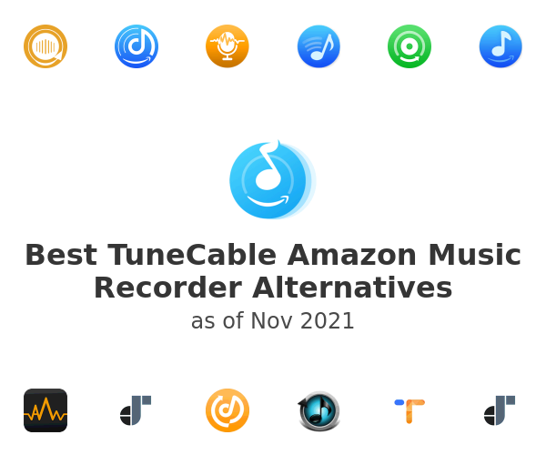 Best TuneCable Amazon Music Recorder Alternatives