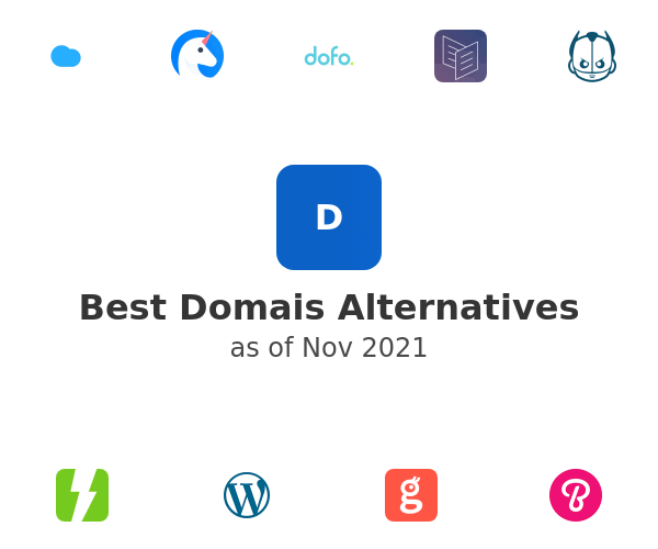 Best Domais Alternatives