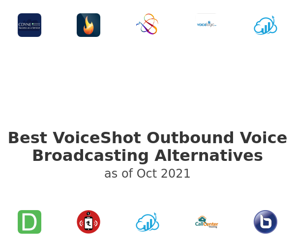 Best VoiceShot Outbound Voice Broadcasting Alternatives