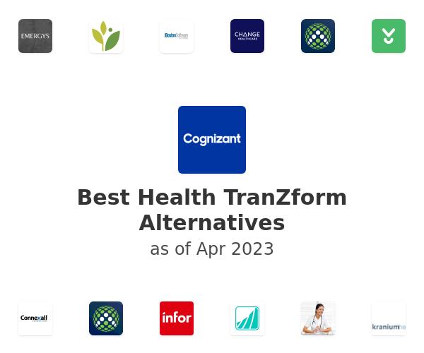 Best Health TranZform Alternatives