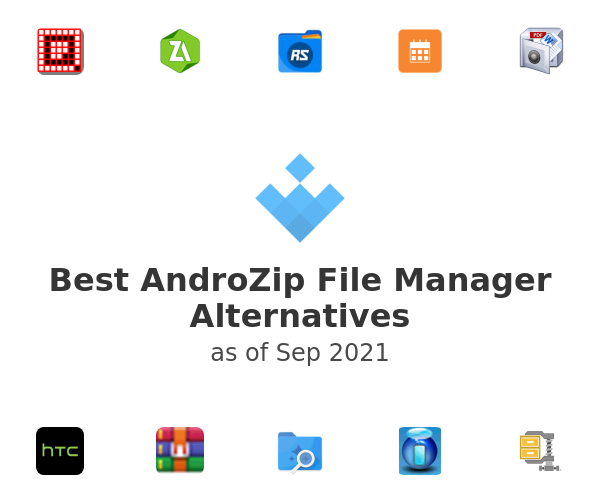 Best AndroZip File Manager Alternatives