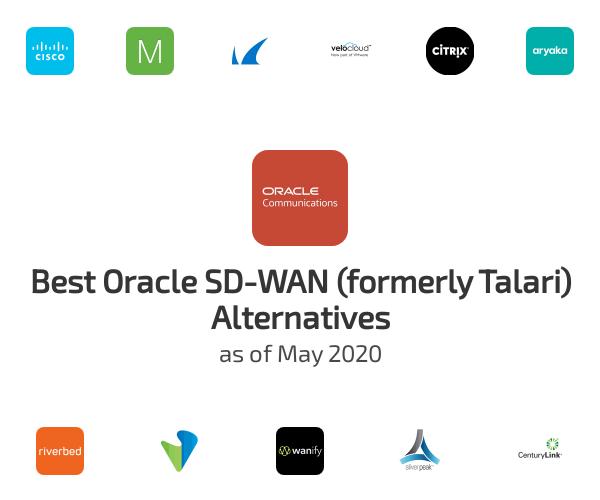 Best Oracle SD-WAN (formerly Talari) Alternatives