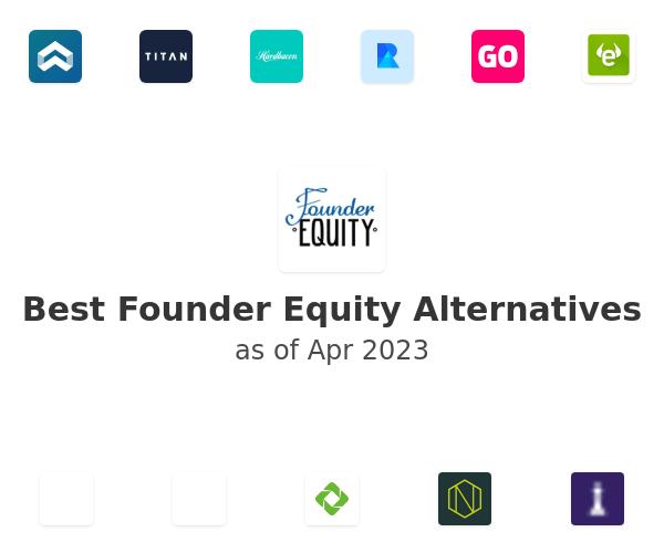 Best Founder Equity Alternatives