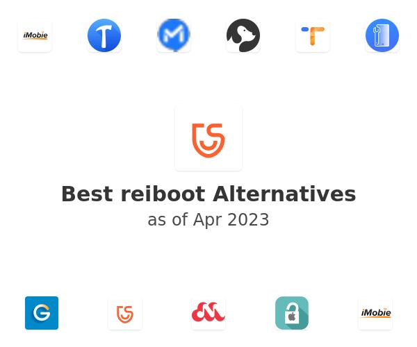 Best reiboot Alternatives