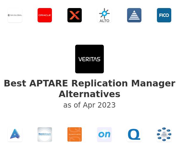 Best APTARE Replication Manager Alternatives