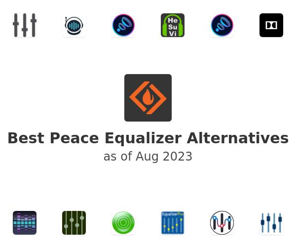 Best Peace Equalizer Alternatives