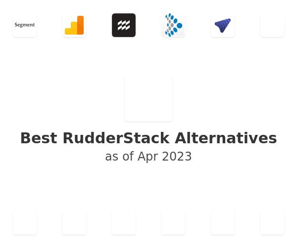 Best RudderStack Alternatives