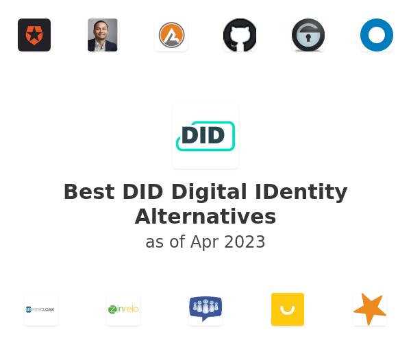 Best DID Digital IDentity Alternatives