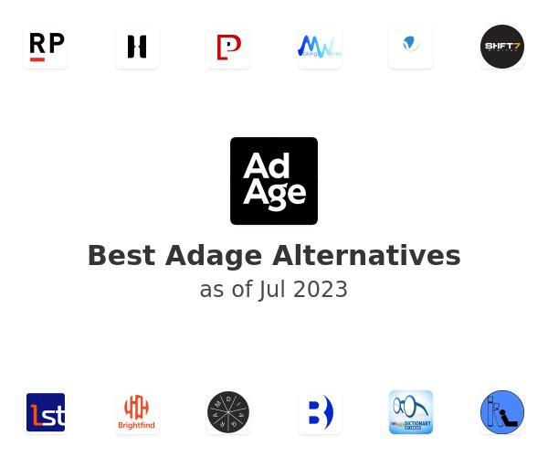 Best Adage Alternatives