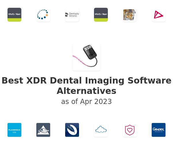 Best XDR Dental Imaging Software Alternatives