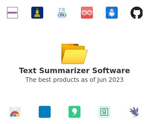 Text Summarizer Software