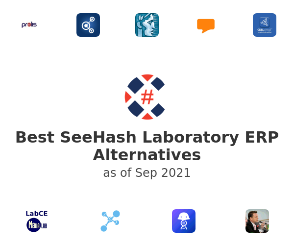 Best SeeHash Laboratory ERP Alternatives