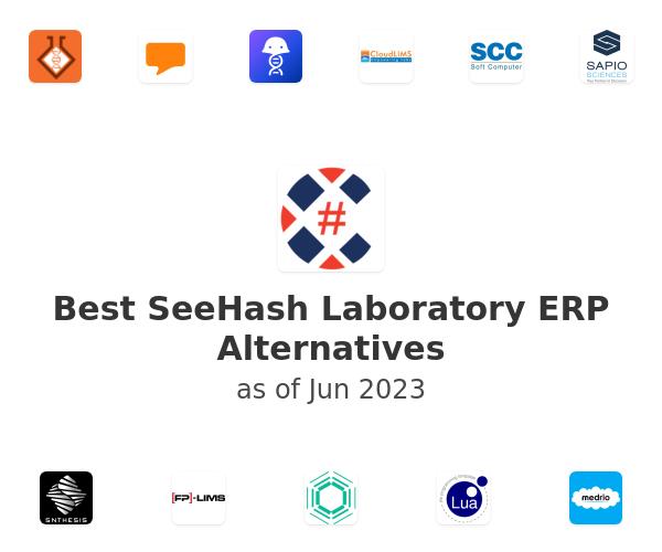 Best SeeHash Laboratory ERP Alternatives