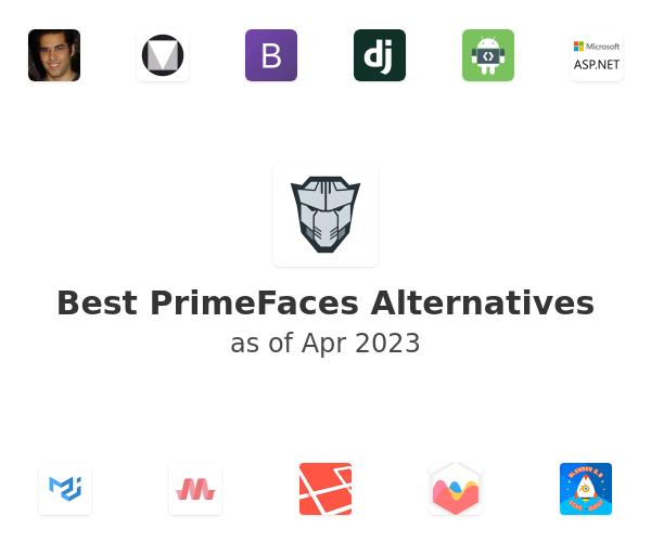 Best PrimeFaces Alternatives